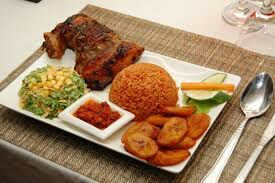 Image result for african food jollof and dodo