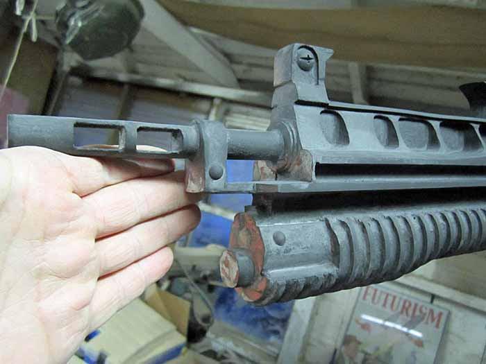 Helghast Rifle Progress