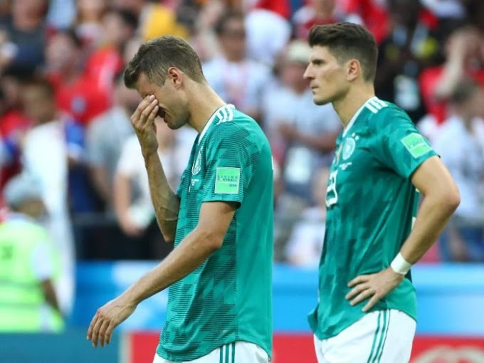 World Cup 2018: We Deserve To Be Out – Germany