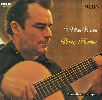 BREAM, JULIAN baroque guitar