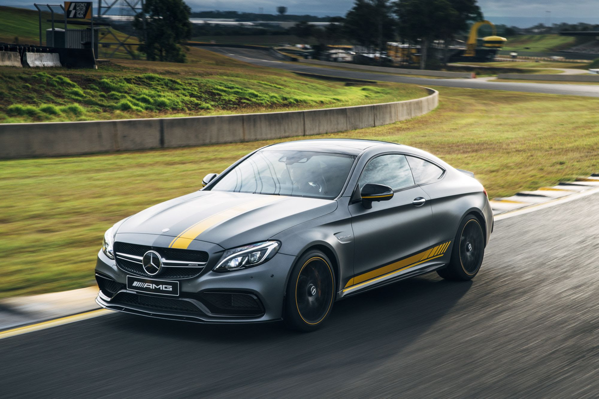 2016 Mercedes-AMG C63 S Coupe Review: Track test | CarAdvice