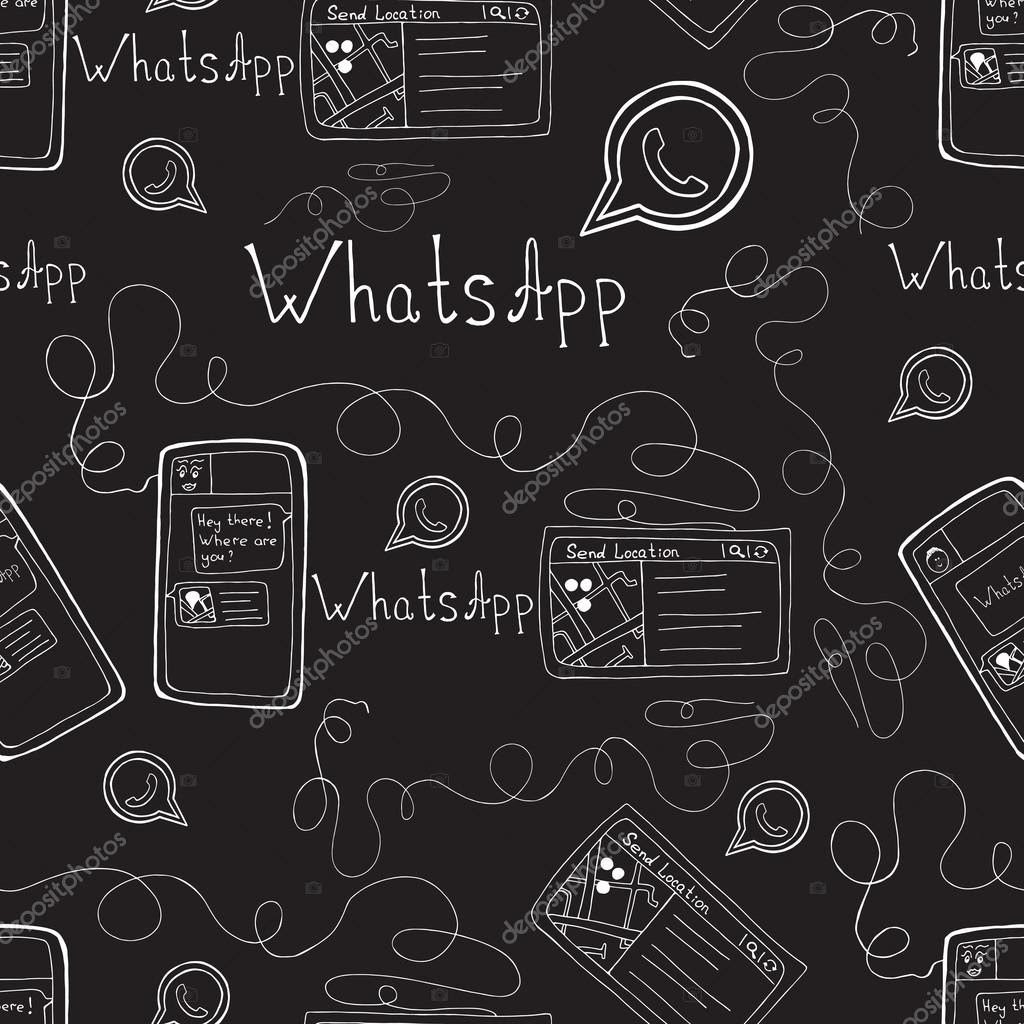 Whatsapp Default Background Wallpaper By Gambar