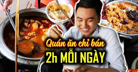 Quán ăn 70 năm tuổi chỉ bán 2 tiếng mỗi ngày | Du Lịch Huế #3