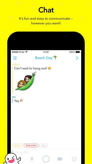 snapchat  ios    software reviews