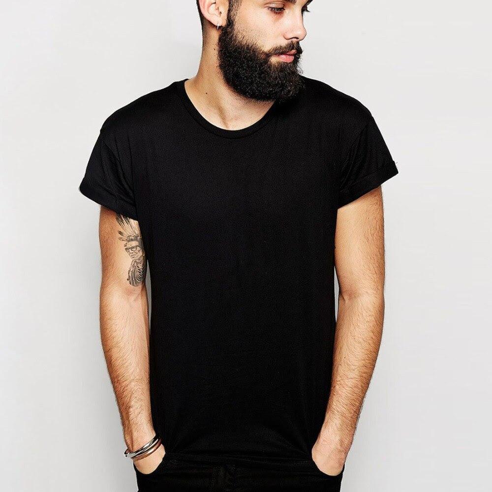 Aliexpress.com : Buy Free shipping Solid T Shirts Men Blank T ...