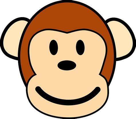 singe visage heureux images vectorielles gratuites sur