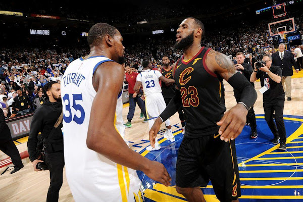 712430f0d54d LeBron James  Cavaliers pursued Kevin Durant after beating the Warriors in  2016