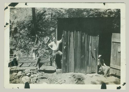 Old mine shack?