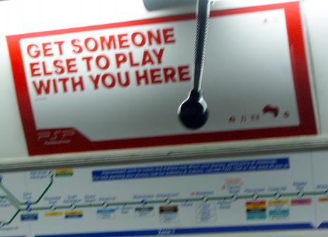 Playstation London Underground Ad