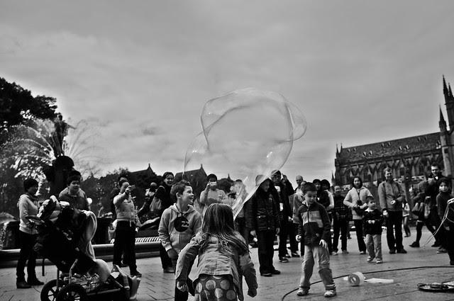 soap bubble man 2