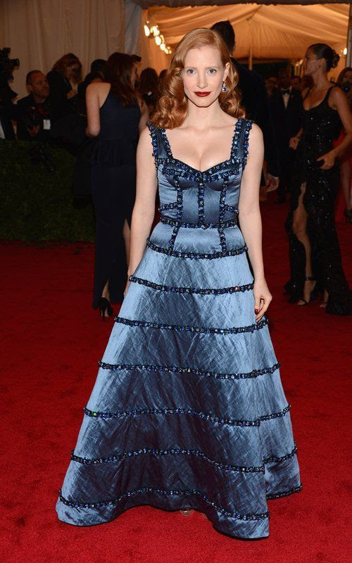 Costume Institute Gala Met Ball - May 7, 2012, Jessica Chastain