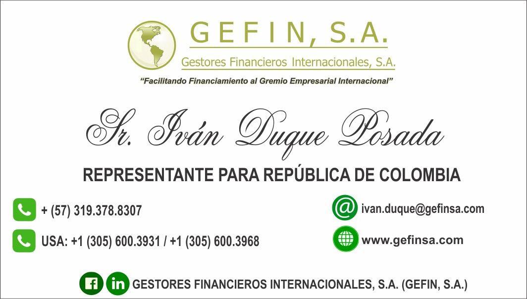 COLOMBIA: (IVÁN DUQUE)