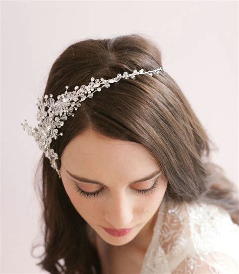 Buy Wholesale Vintage Luxury Beaded Crystal Flower Hair