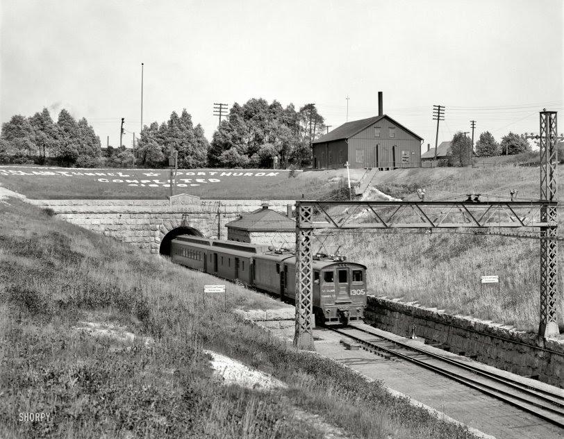 St. Clair Tunnel: 1905