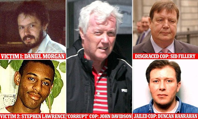 Investigation: The Mail today makes clear the links between the murders of Stephen Lawrence and Daniel Morgan