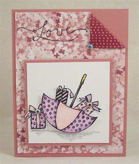 Umbrella Full of Gifts Card by HeatherHolbrook   Cards and