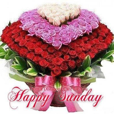 Happy Sunday Flower Bouquet Pictures Photos And Images For