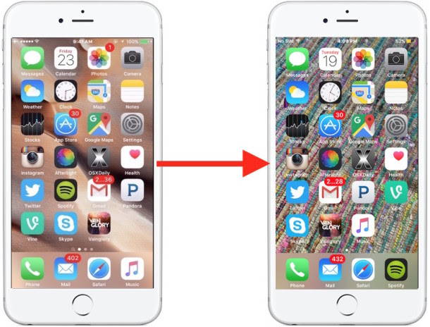 How to Set Any Picture as Background Wallpaper on iPhone ...