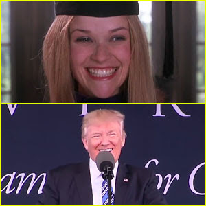 Donald Trump's Speech Has So Many Similarities to Elle Woods' 'Legally Blonde' Speech - Watch Now!