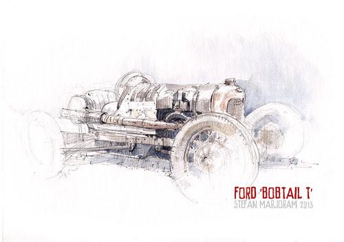 Ford - Bobtail T by Stefan Marjoram