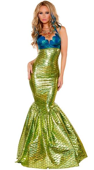 sirena the mermaid costume sexy mermaid costume green