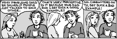 Home Spun comic strip #805
