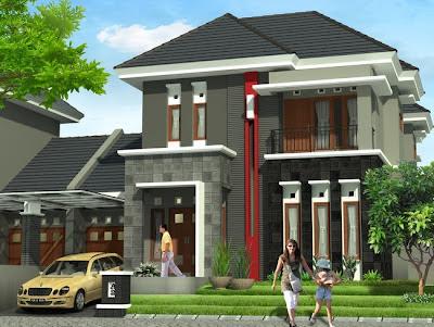 desain rumah minimalis ukuran 9 x 14