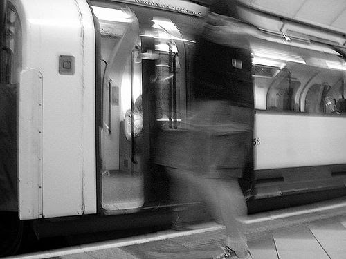 Tube Challenge Black and White