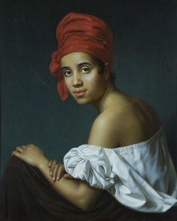 Creole in a red turban by trudeau