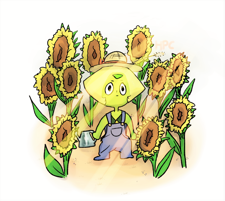 I will wait for you, Lapis…… ……does she gonna like my new garden…?… (well…I could only try…)