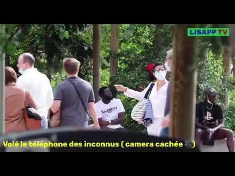 Caméra cachée volée les téléphones