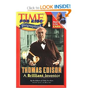 Time For Kids: Thomas Edison: A Brilliant Inventor