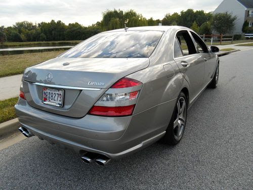 Find used 2007 Mercedes S550 Sport Carlsson Edition Loaded All Power Navi Rear Camera 72K in