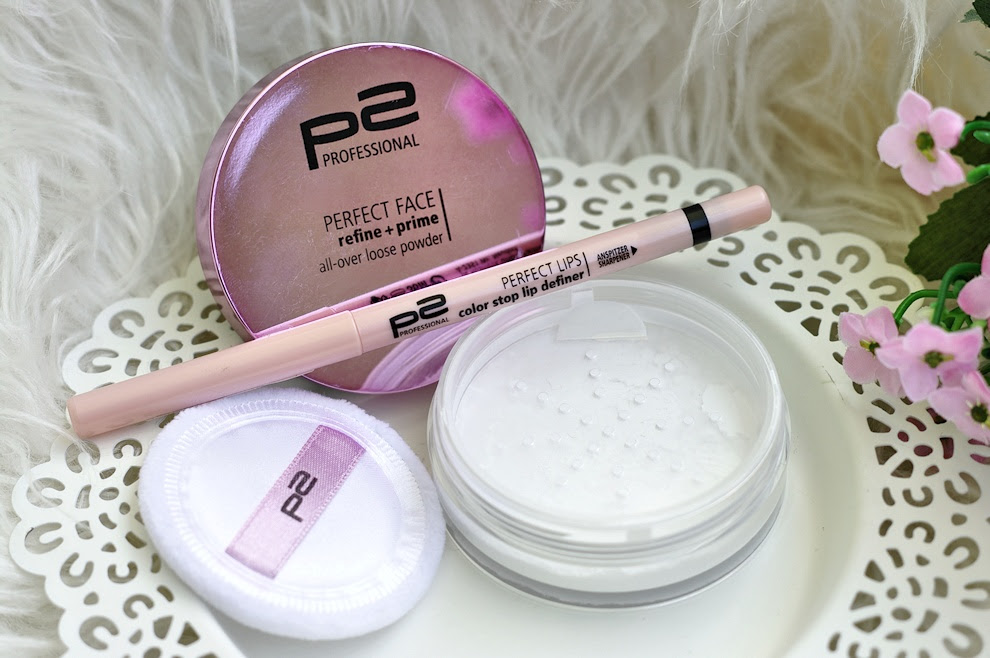 p2 - perfect face refine + prime & perfect lips color stop lip definer