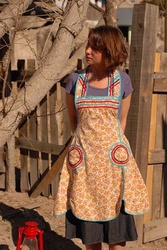 vintage apron find