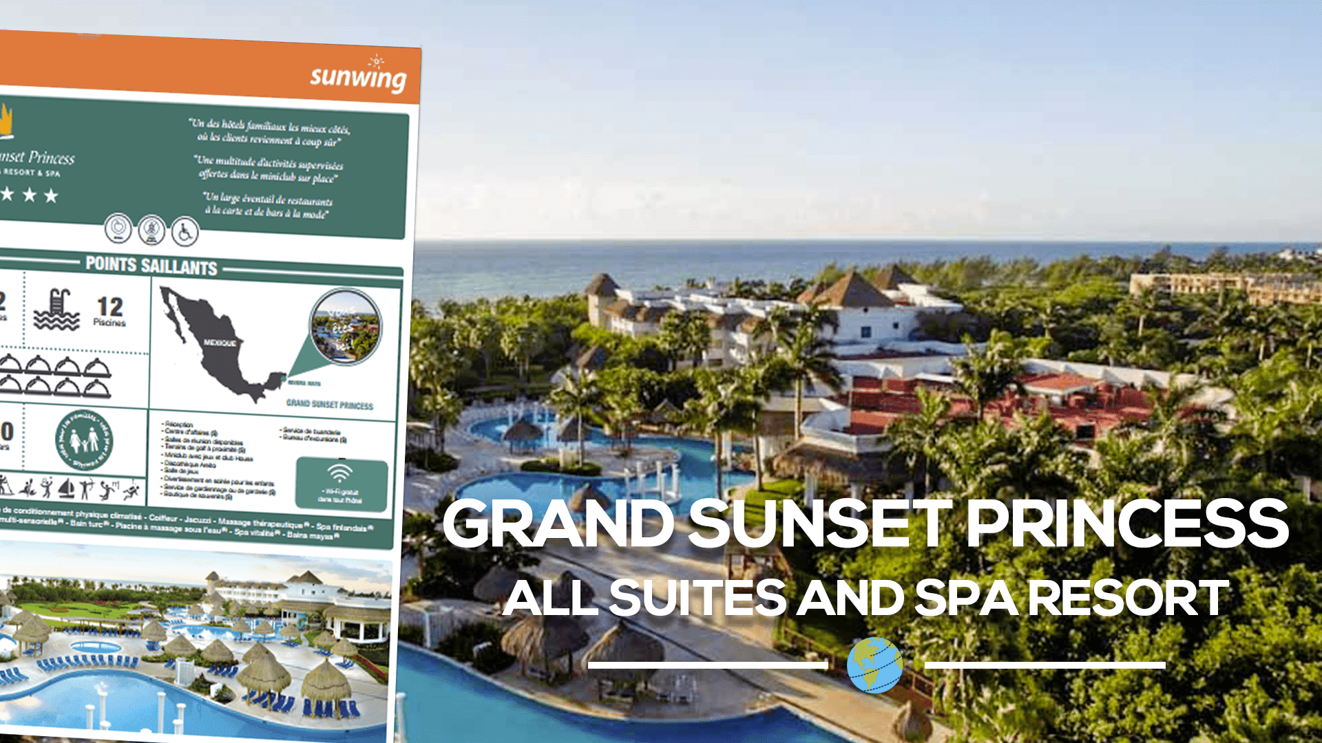 Fiches Htels Le Grand Sunset Princess All Suites and