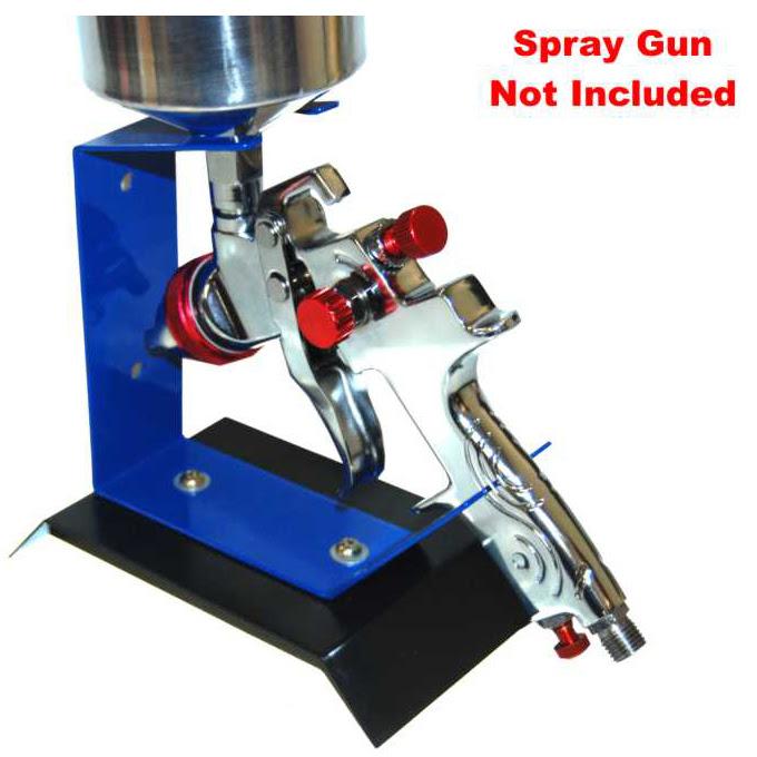 Benchtop GRAVITY FEED SPRAY GUN HOLDER STAND Auto Paint ...