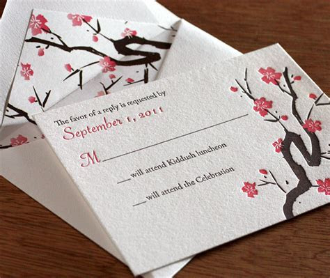 Bat Mitzvah Letterpress Invitation Inspiration