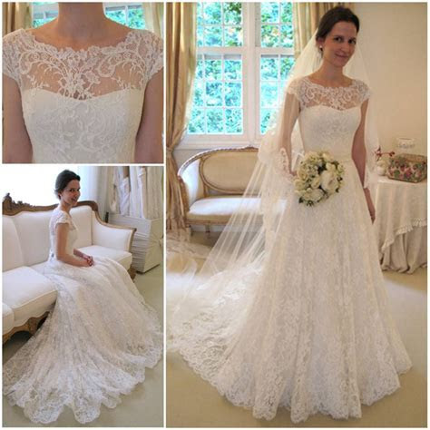 Trends Of Wedding Gowns With Short Sleeves 0014   Life n