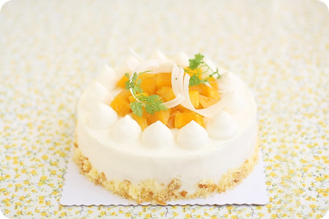 Mango Shortcake マンゴーショートケーキ