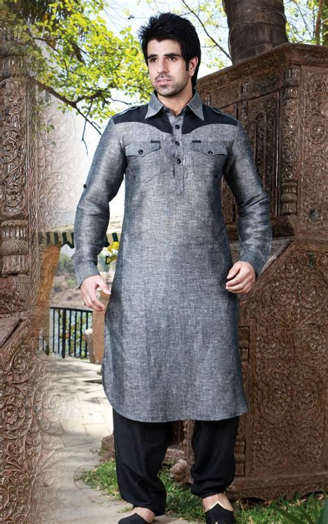 Latest Men Wedding Mehndi kurta Designs Collection 2017
