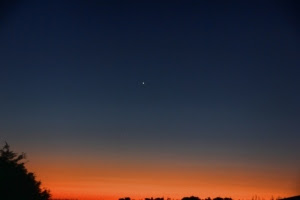 sunrise and the North Star (640x427)