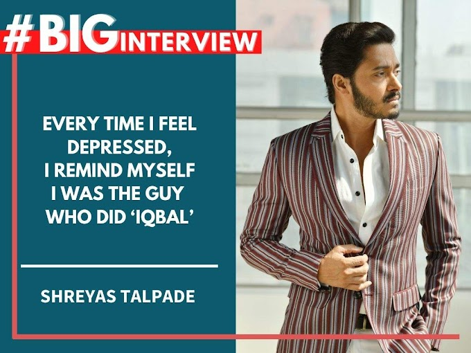#BigInterview! Shreyas on his B-town journey