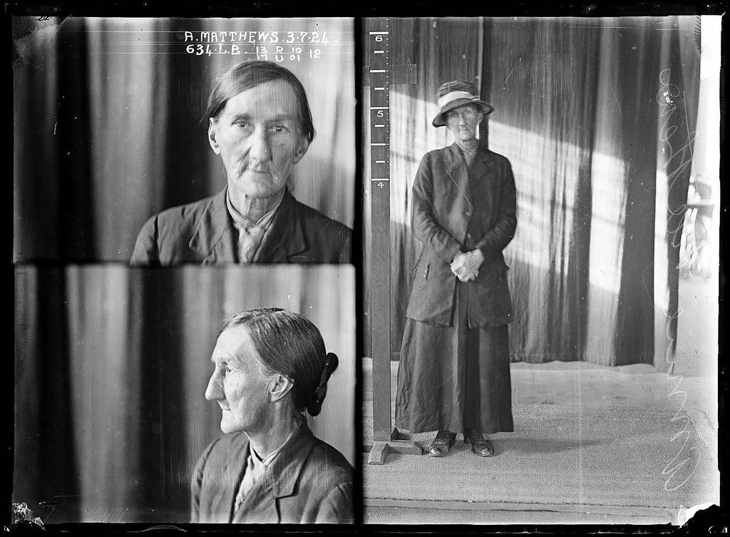 photo police sydney australie mugshot 1920 05 Portraits de criminels australiens dans les années 1920  photo photographie histoire featured art