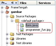 Cara Gampang Menampilkan Gambar Di Java Netbeans | Source ...
