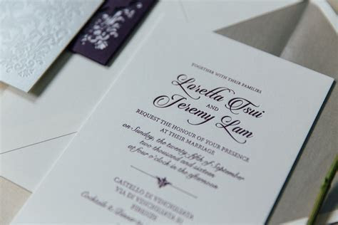 Wedding Invitation and Stationery Tips   Hong Kong Wedding