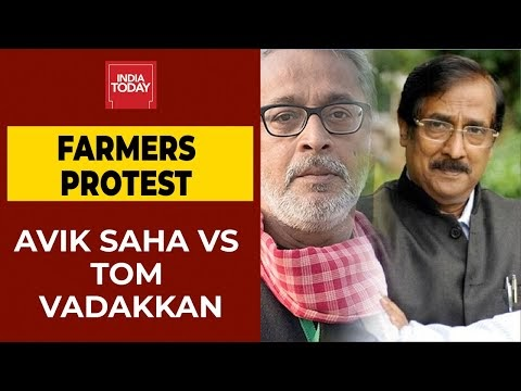 Farmers Protest Intensifies Over Farm Laws: Jan Kisan Andolan's Avik Saha VS BJP's Tom Vadakkan