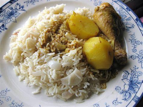 resepi nennie khuzaifah nasi minyak kari ayam
