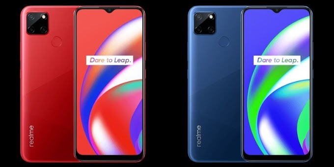 New realme C12: the cheapest with a great battery
