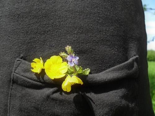 pocket full of flowers